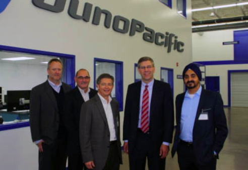 Congressman Paulsen visiting new JunoPacific facility